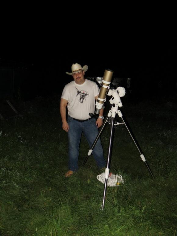 Первый свет Sky-Watcher ED80